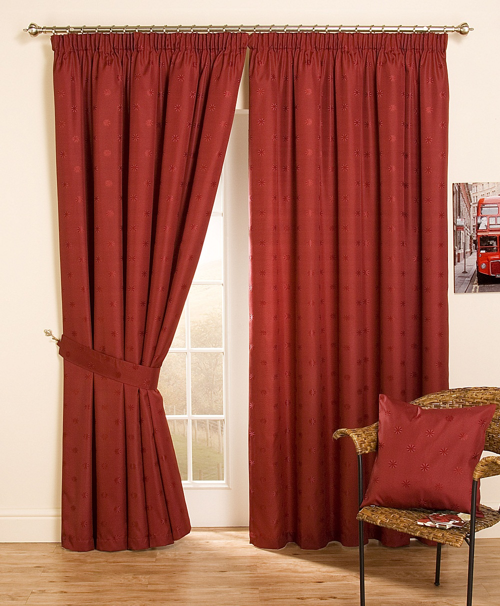 Elegant Image of: Color Curtains for Front Door thermal front door curtain