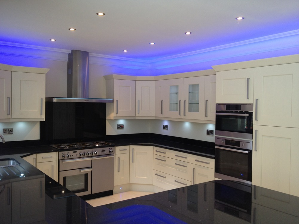 led kitchen lighting benefits to install in your home - Led Kitchen Light Fixtures