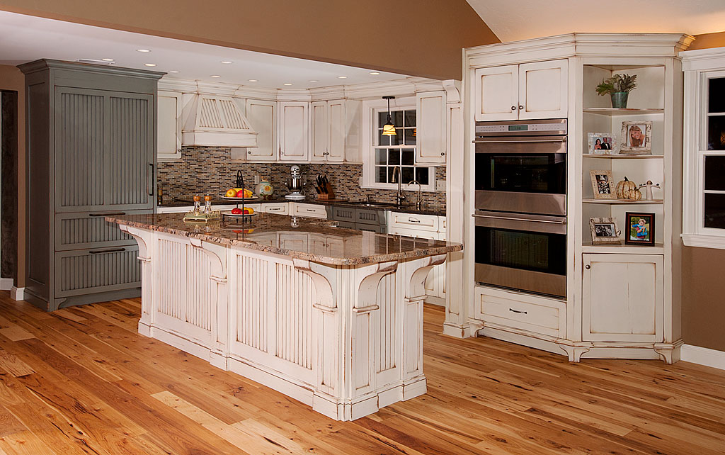Elegant Kitchen : Best Pictures Of Distressed Kitchen Cabinets And Steps To Install rustic white kitchen cabinets