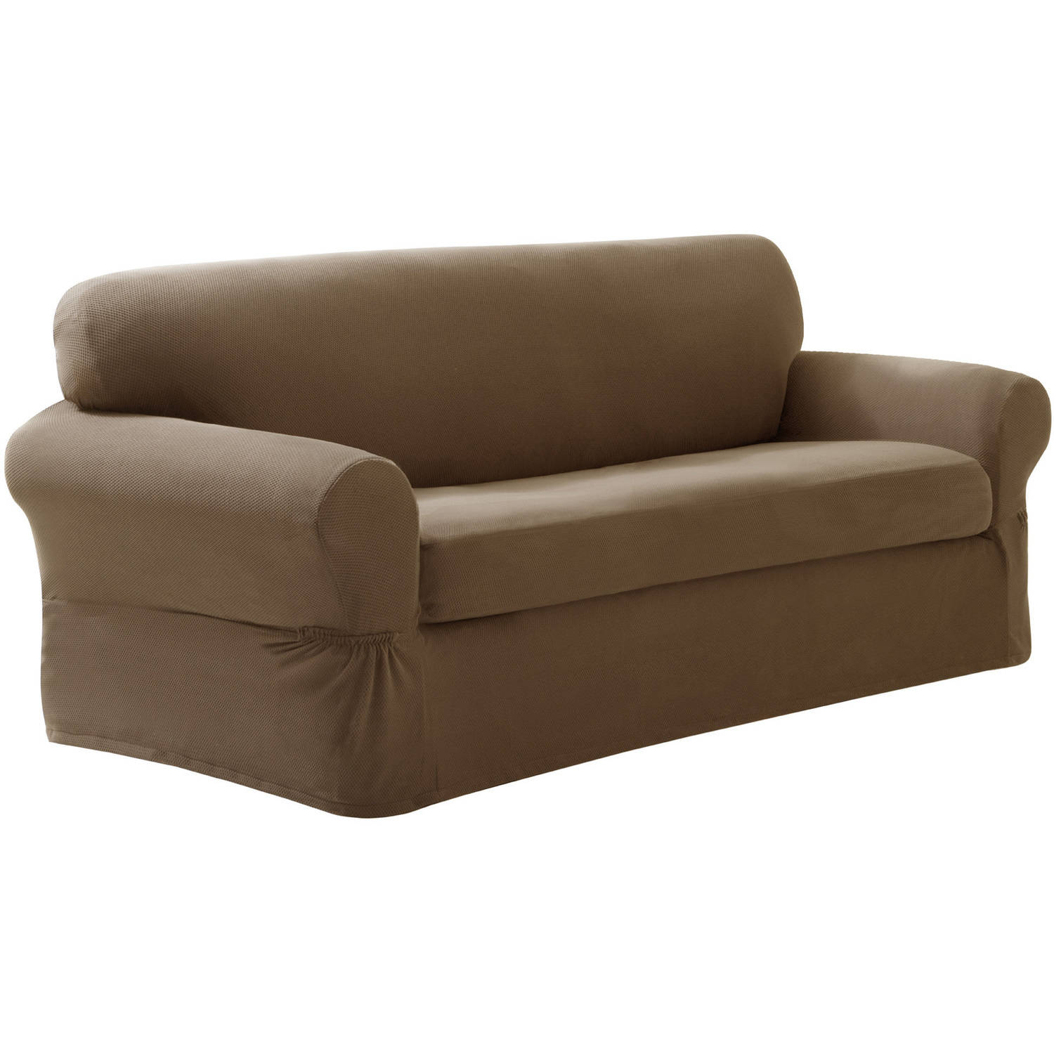 Elegant Maytex Stretch 2-Piece Sofa Slipcover - Walmart.com stretch sofa slipcover