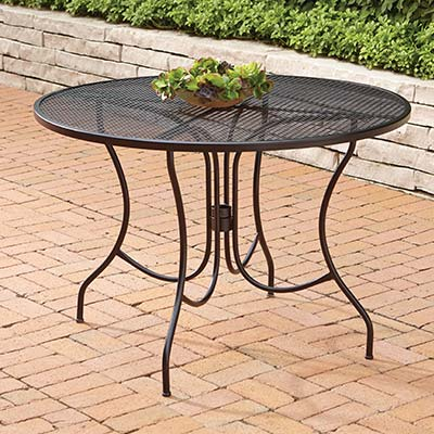 Elegant Metal Patio Tables metal patio table
