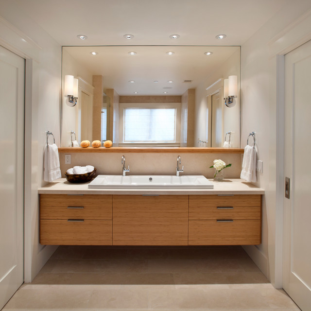 Elegant Modern classic contemporary-bathroom classic contemporary bathrooms