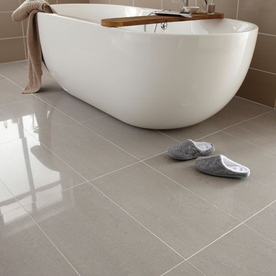 Elegant Regal porcelain from Topps Tiles | Bathroom flooring | PHOTO GALLERY | floor tiles for bathrooms