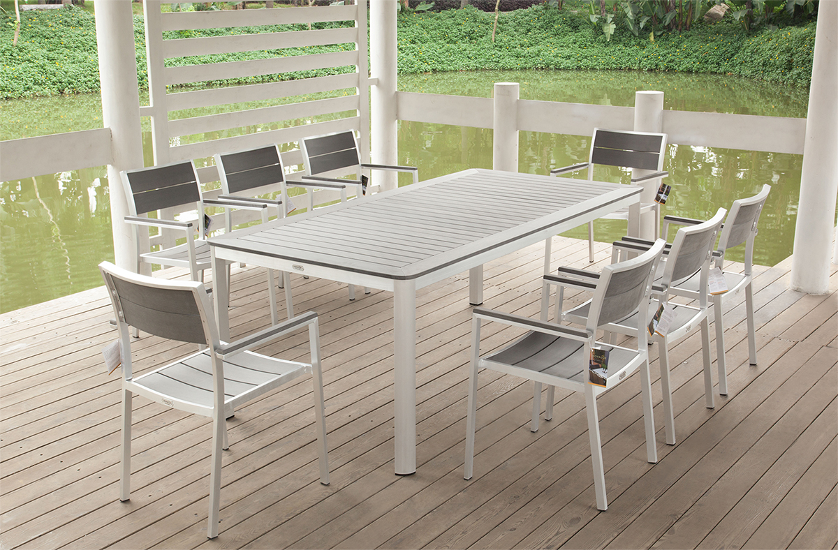Elegant Related image Of White Aluminum Outdoor Furniture modern aluminum patio furniture