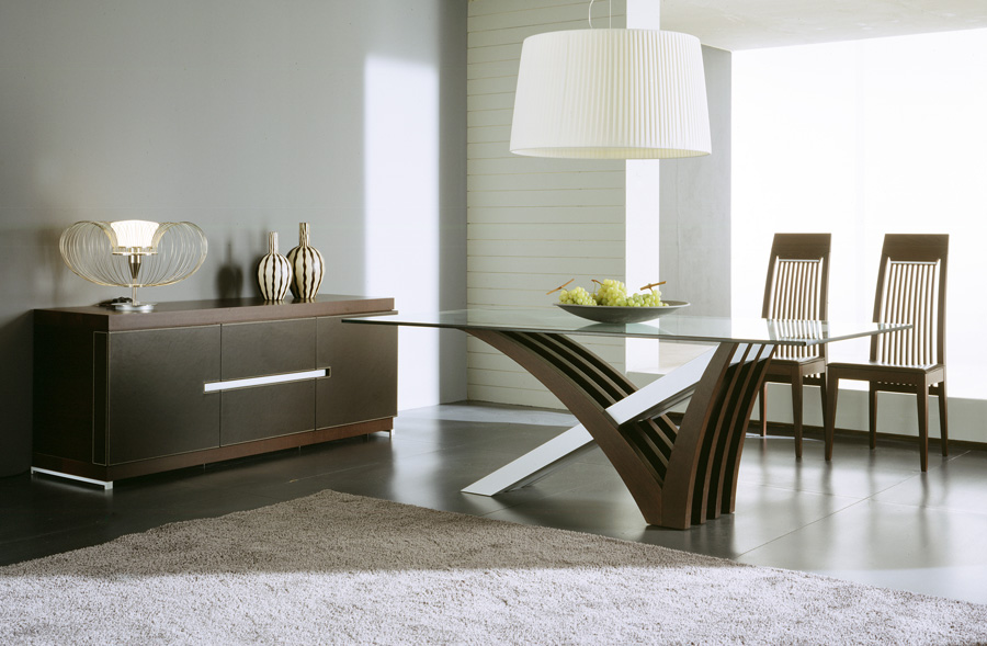 Elegant Solerna Dining Room Set. Sleek Design And Modern Sophistication Modern  Dining Room Furniture Sets