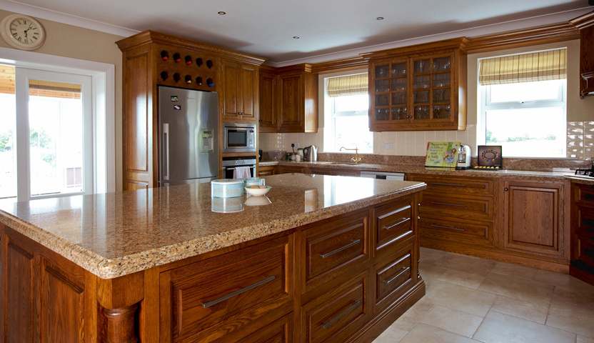 Elegant Solid Oak Kitchen solid oak kitchens