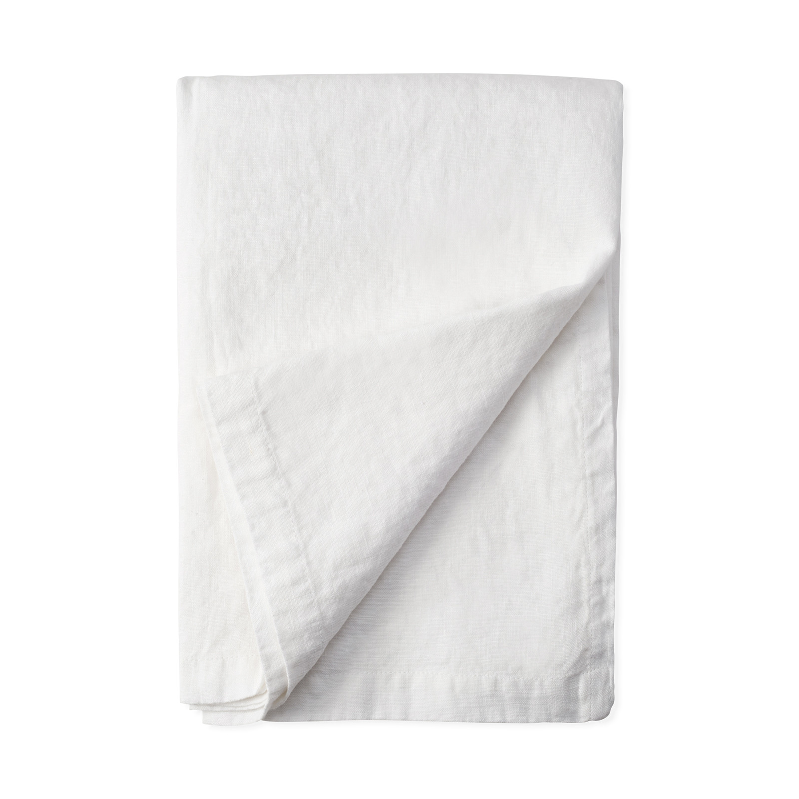 Elegant White Linen Tablecloth by Lost in Linen white linen table cloths