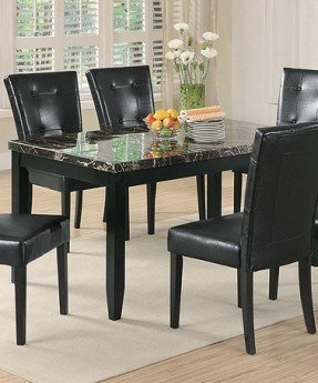 Cool Love this Black Faux-Marble Dining Table on #zulily! #zulilyfinds faux marble dining table