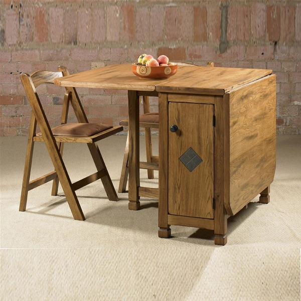 Luxury Beautiful Folding Dining Table With Good Design Charming Wooden Style Tumbleng Drop Leaf