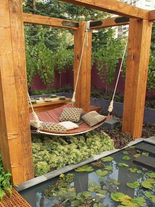 Awesome Adult swing set! Beautiful! garden swings for adults