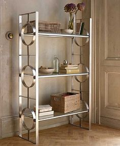 Luxury Artisan Circle Glass Shelving Unit glass shelving units living room
