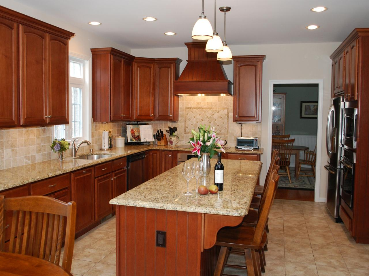 Beautiful Granite Countertops for Kitchens granite kitchen counters pictures