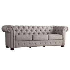 Awesome Augustine Tufted Sofa gray tufted sofa