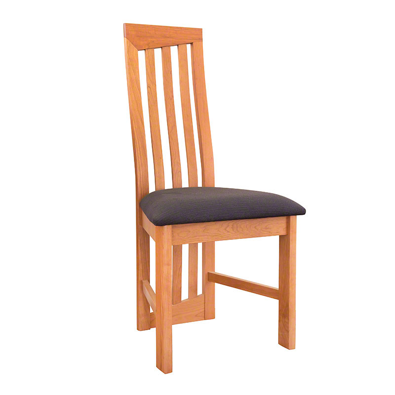 Amazing Modern High Back Cherry Dining Chairs high back wooden dining chairs