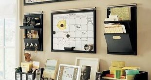 Stylish Creating an efficient, workable space in your home office isnt difficult! home office organization