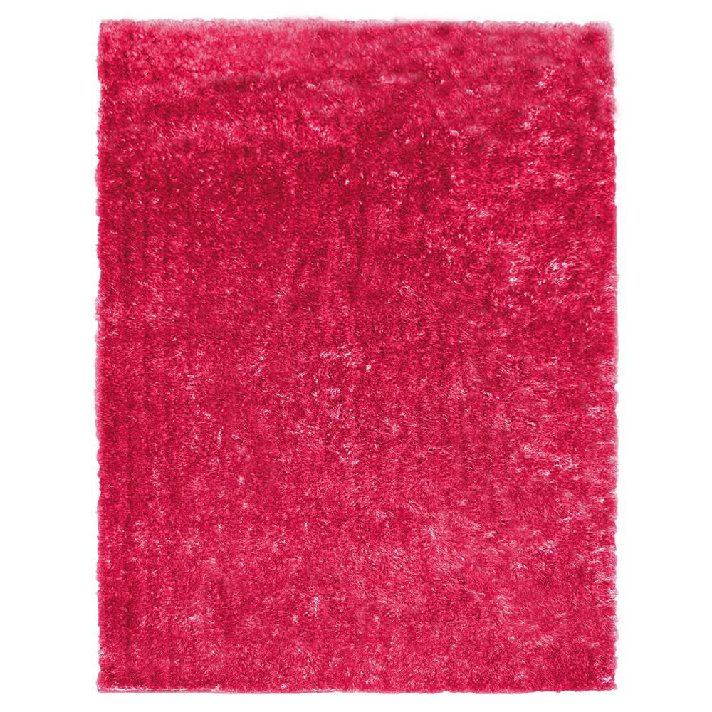 Elegant Rug Studio Metro Silk Hot Pink Area Rug hot pink area rug