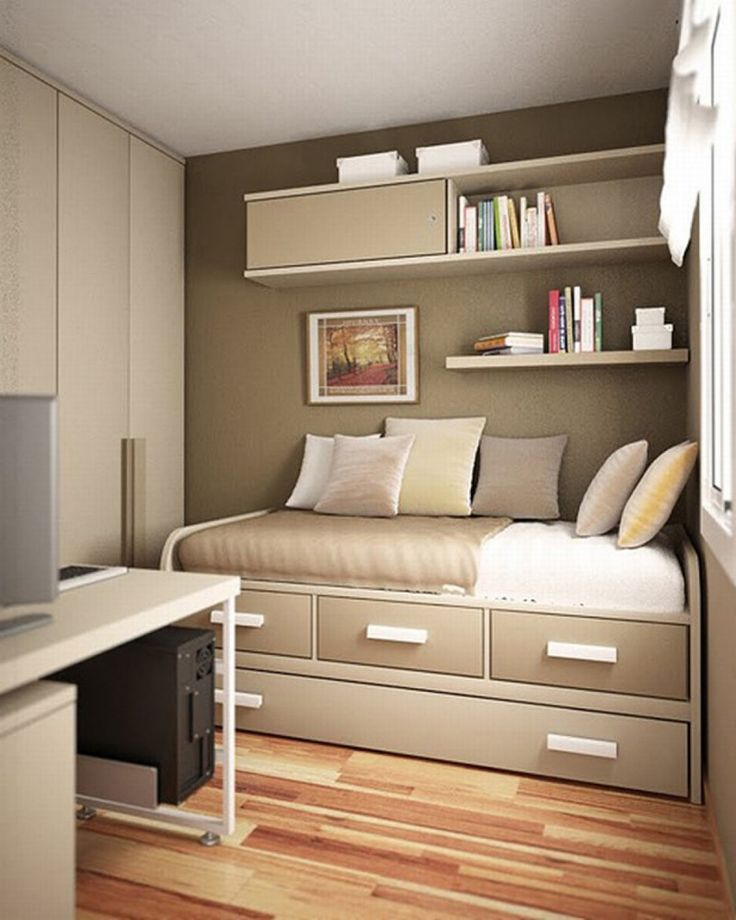 In style with fitted bedroom furniture for Super small bedroom design