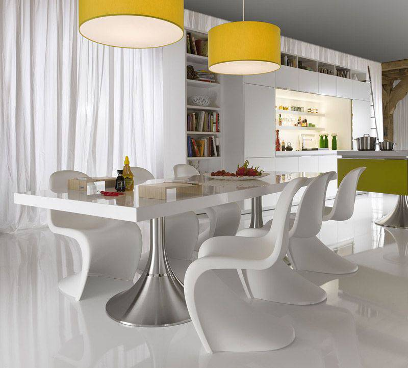 Make Your Dining Space Modern With The Contemporary Dining Room Sets New Contemporary Dining Room Tables And Chairs