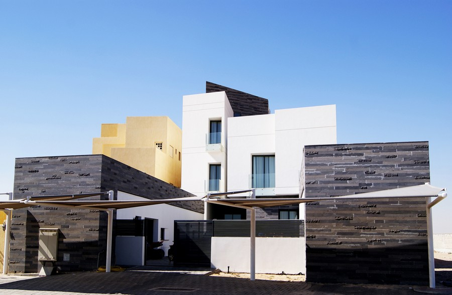 Ideas of Architects: M2H Design Studio Alley House Kuwait latest architectural house designs