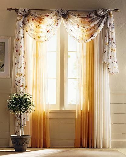 Ideas of Beautiful Living Room Curtain Ideas window curtain design