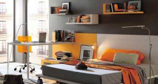 Ideas of Bedroom Design, Modern Baby Nursery and Kids Room Furniture from Kibuc:  Dark modern teen bedrooms