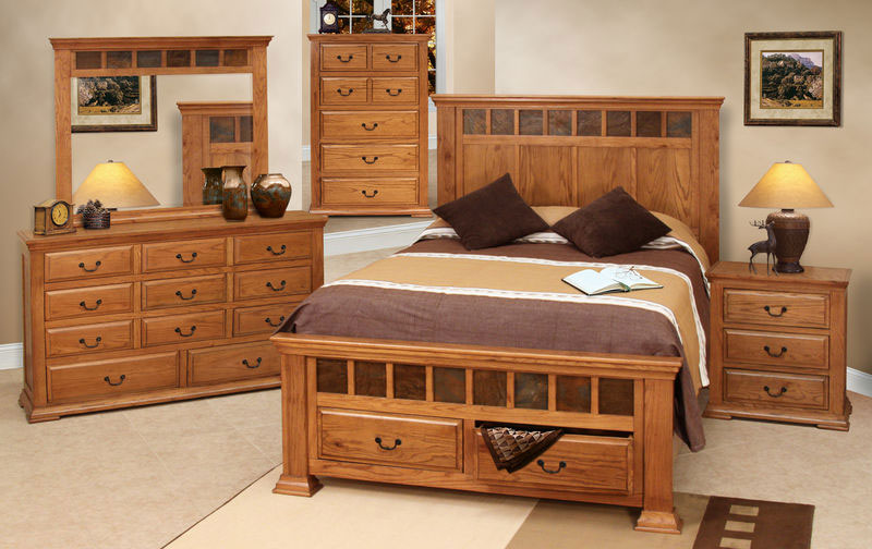 Simple Bedroom Furniture Set Decoration
