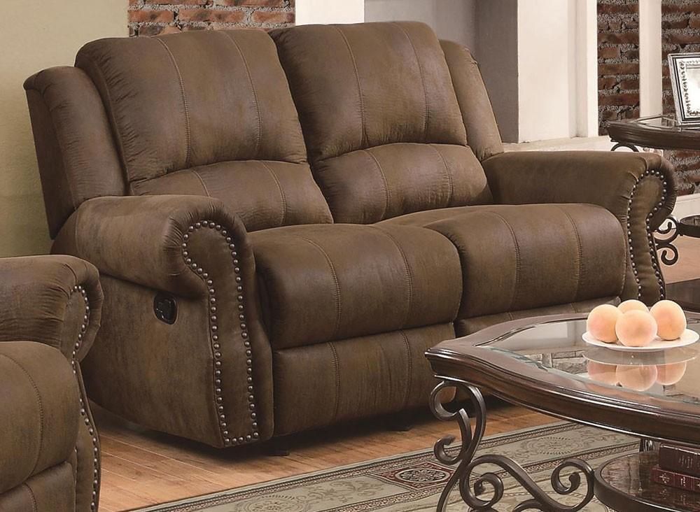 Ideas of Hoyt Microfiber Recliner Sofa reclining microfiber sofa
