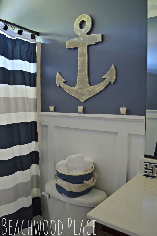 Ideas of Nautical Bathroom Decor anchor bathroom decor