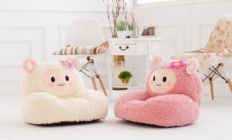Ideas of New 2015 Plush Toys Baby Chairu0026Seat Children Cartoon Sofa Kids Sleeping  Bean baby sofa seat
