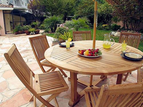 Ideas of Patio. Teak Patio Furniture Sets - Home Interior Design teak garden furniture sets