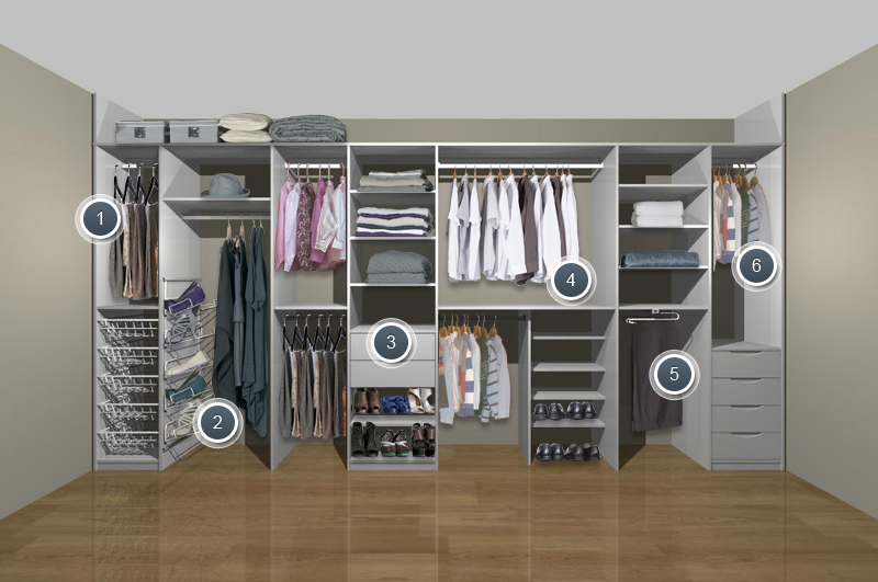 City life and wardrobe solutions for Storage solutions for small bedrooms