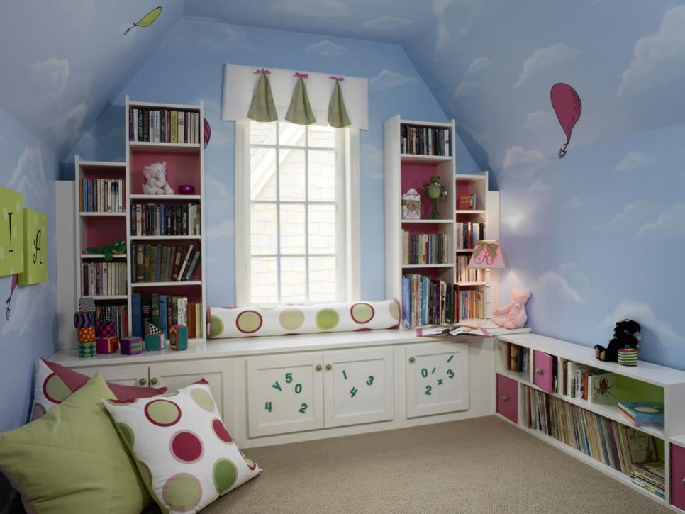 Images of 8 Ideas for Kidsu0027 Bedroom Themes | HGTV childrens themed bedrooms