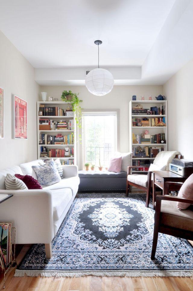 Images of Amie, Emma, and Francescau0027s  interior design living room apartment