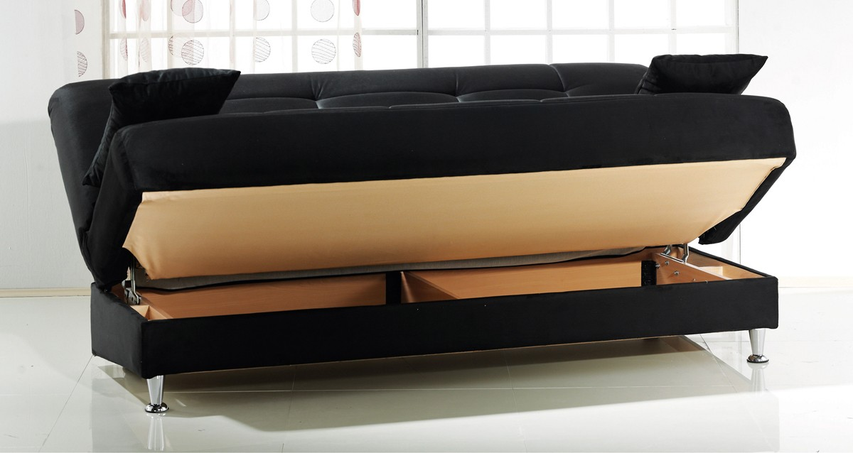 Images of ... CADO Modern Furniture - VEGAS Sofa Bed with Storage ... sofa bed with storage