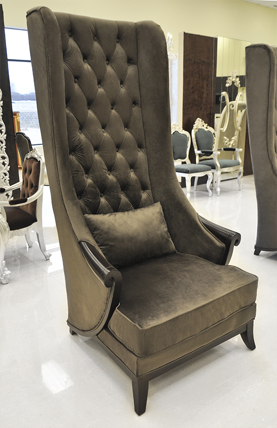 Images of click to see larger image · High Back Wing Chair ... high back wing chair