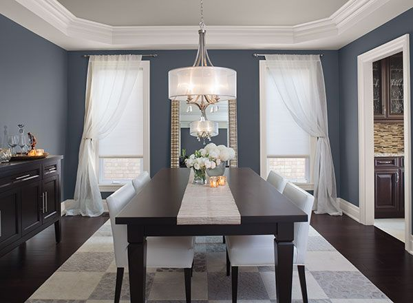 Choosing the right dining room colors for your home for Dining room colour inspiration
