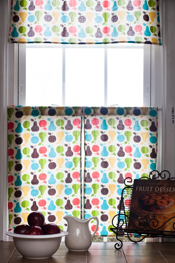 Images of DIY Retro Kitchen Curtains | Sew.Knit.Create retro kitchen curtains