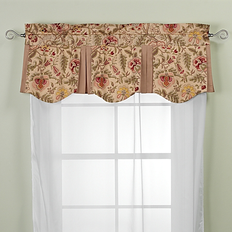 Images of image of Imperial Dress Antique Valance living room valances
