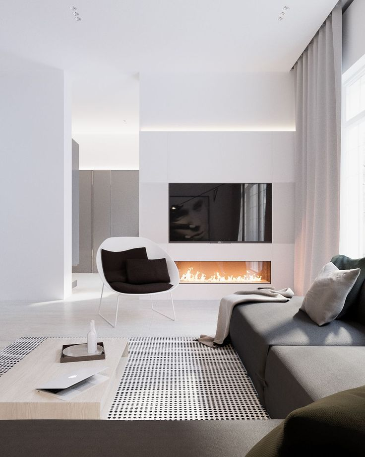 Images of Modern Stylish Apartment Interior Design In A Simplicity modern interior design ideas