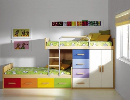 Images of need this for the kids room - eliminates 2 dressers and 2 kids bunk beds with storage