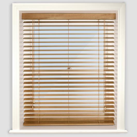 Images of Premier Medium Oak Wooden Venetian Blind wooden venetian blinds