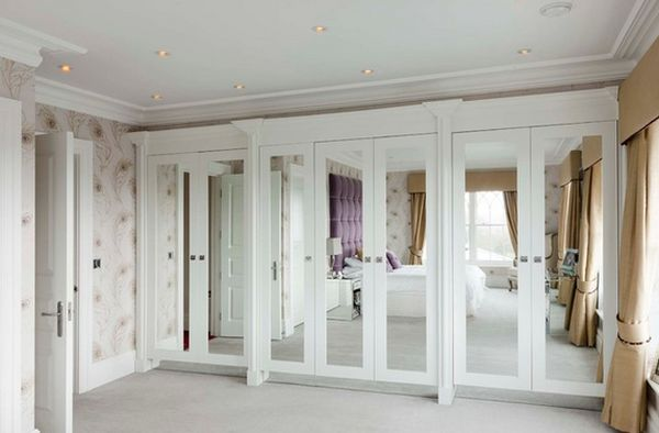 Images of View in gallery ... mirrored wardrobe doors