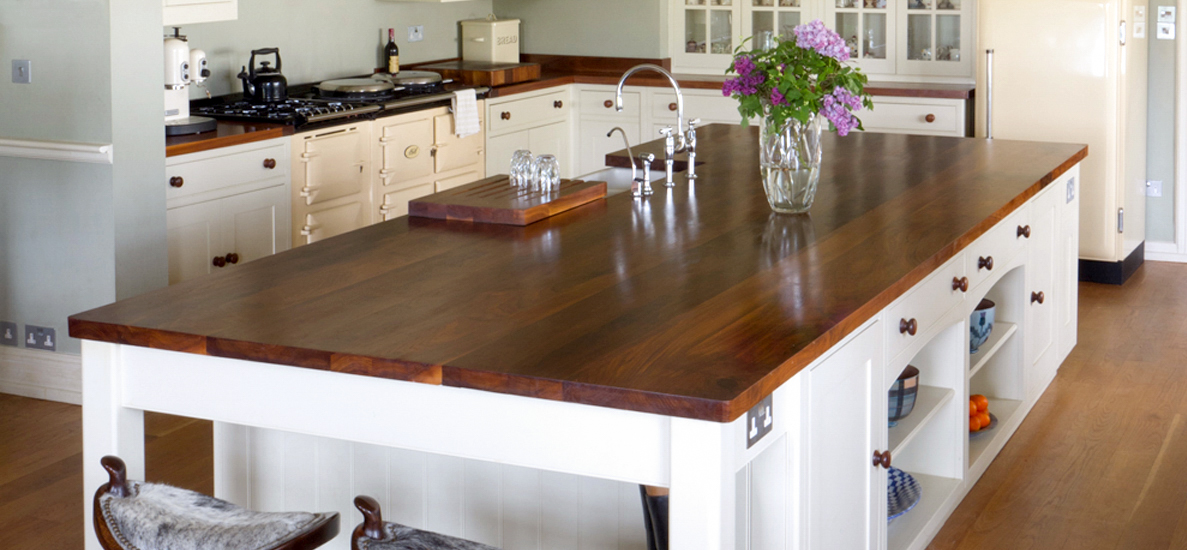 Images of Walnut Super Stave Kitchen Worktops wooden kitchen work tops