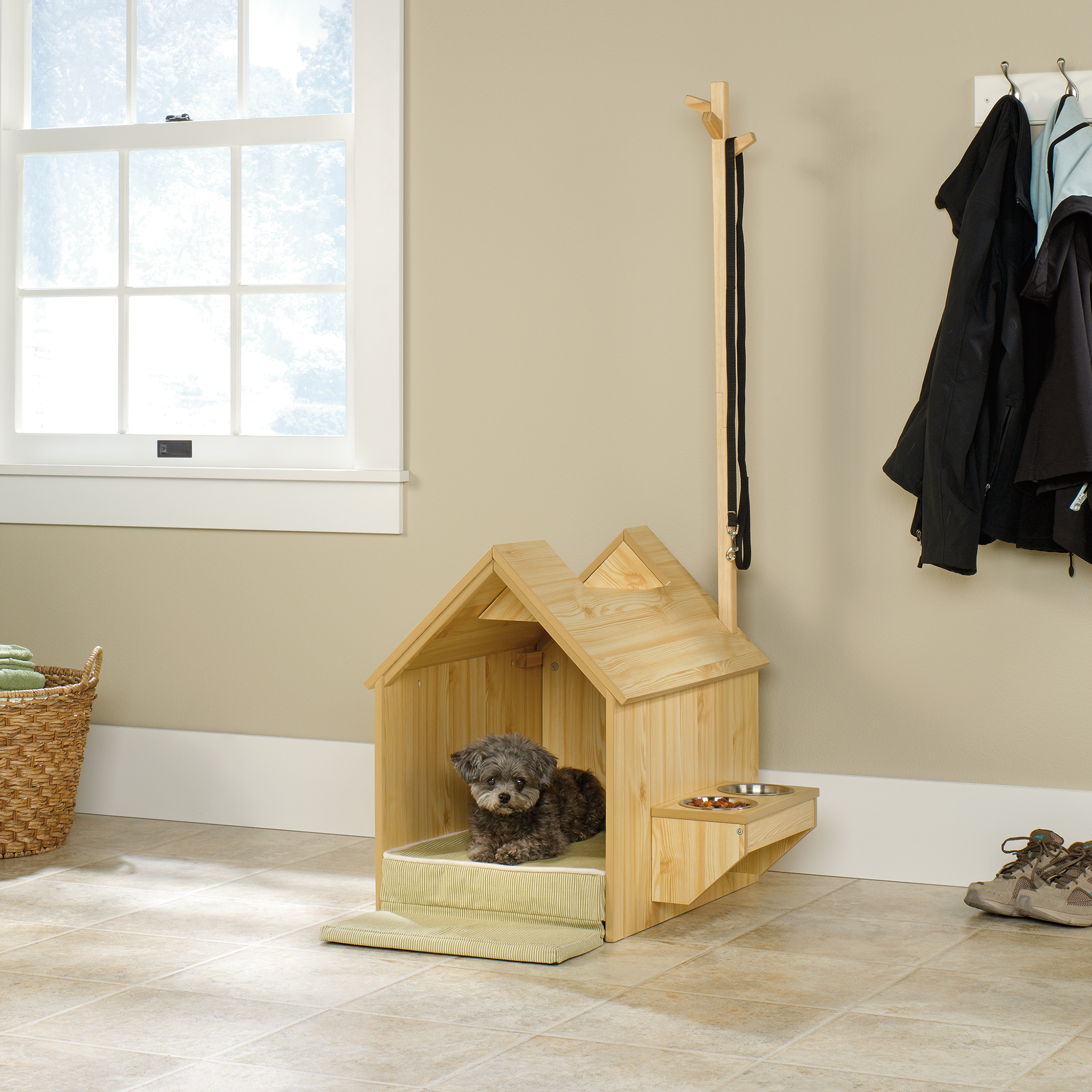 Beautiful Inside Dog House ... indoor dog house furniture