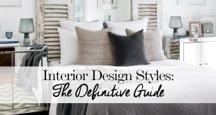 Modern Interior Design Styles: The Definitive Guide interior design styles guide