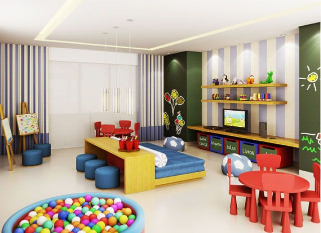 Merveilleux Decorating Ideas For Kids Playroom