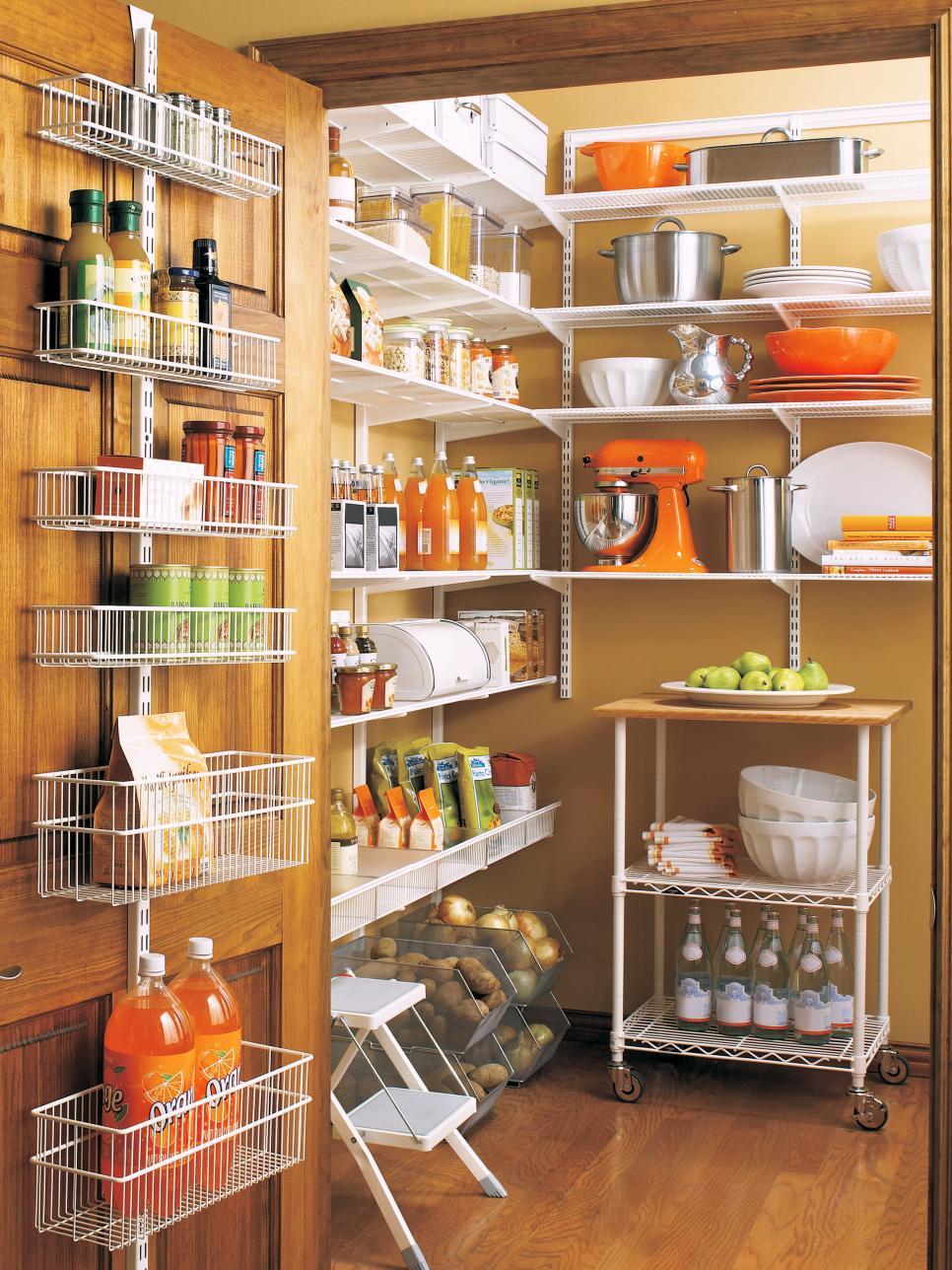 Chic Flatware Storage kitchen pantries for storage
