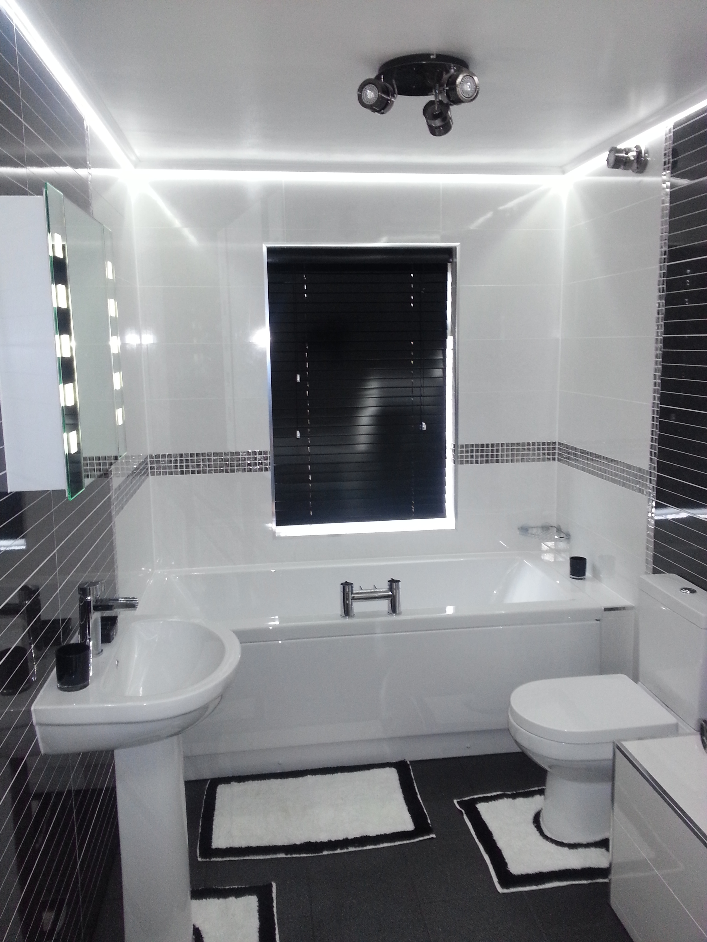 Modern Bathroom Led Light Light Span Bath On Amortech Lighting led bathroom lights