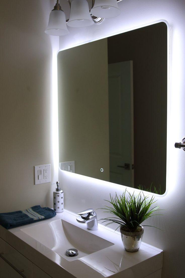 Led Lighting Bathroom Ideas Part - 28: Amazing Windbay Backlit Led Light Bathroom Vanity Sink Mirror. Illuminated  Mirroru2026 Http://