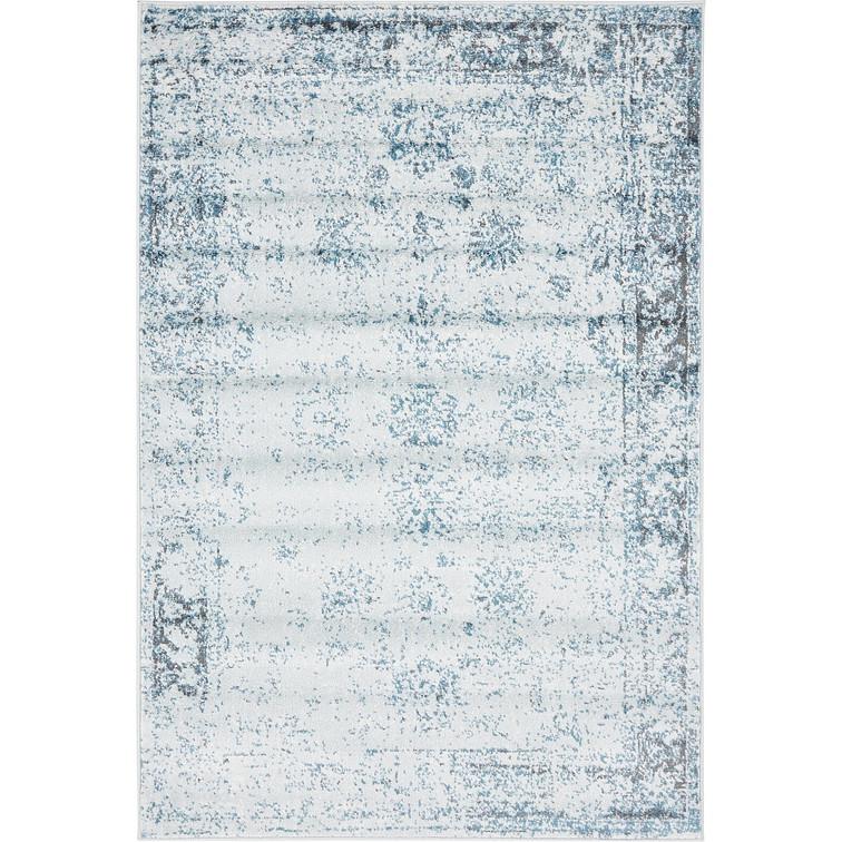 Chic Bungalow Roseu0026trade; Ford Light Blue Area Rug light blue area rug